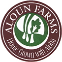 aloun farms Bananensticker