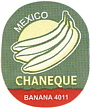 chaneque Bananensticker