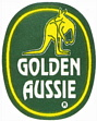 golden aussie Bananensticker