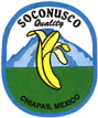 soconusco Bananensticker