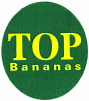 top bananas Bananensticker