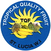 tropical quality Bananensticker