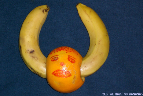 Bananen in den Ohren