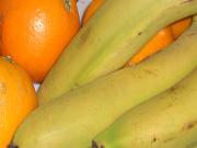 Bananen und Orangen