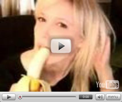 Wenn Frauen Bananen essen